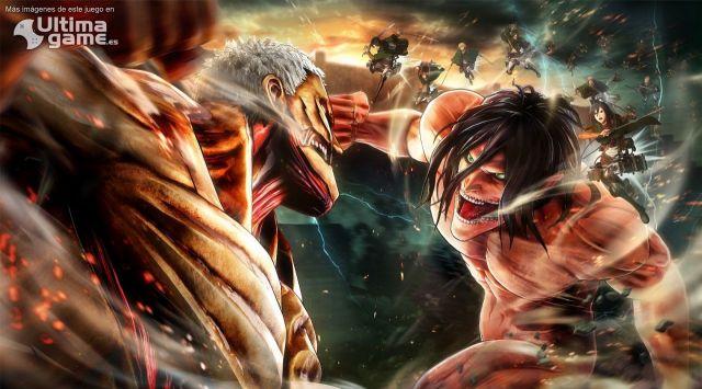 La segunda temporada de Ataque de Titanes, también llega a los videojuegos