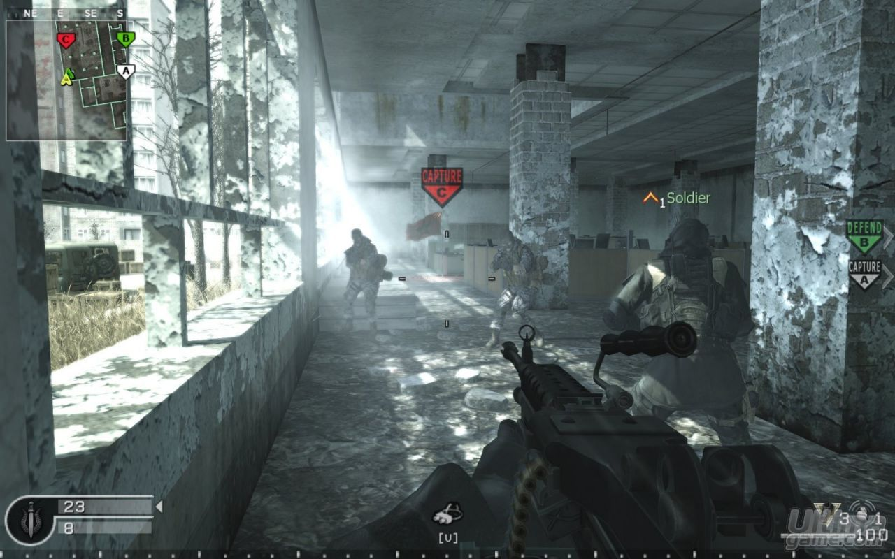 demo jouable de call of duty 4