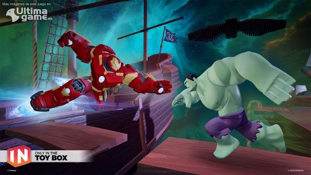 Disney prepara un 'Campo de Batalla Marvel' en Disney Infinity 3.0
