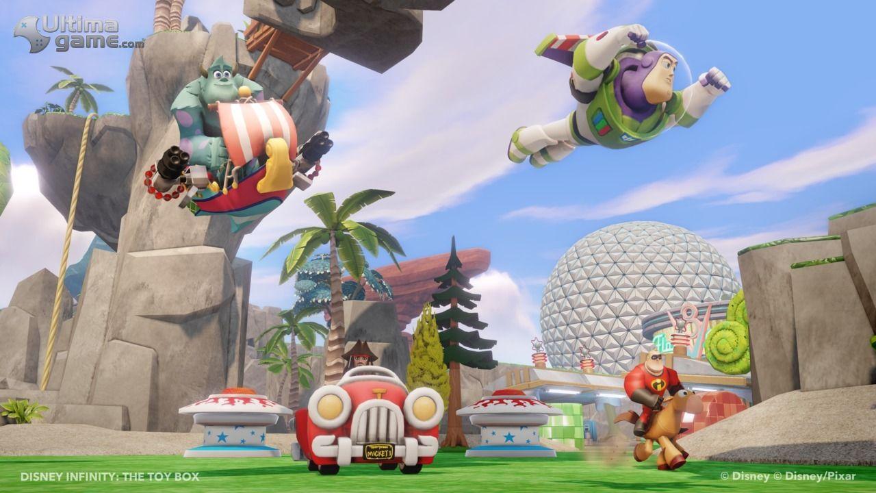 Im�genes de Disney Infinity: El modo Toy Box (Caja de Juguetes), al descubierto en im�genes