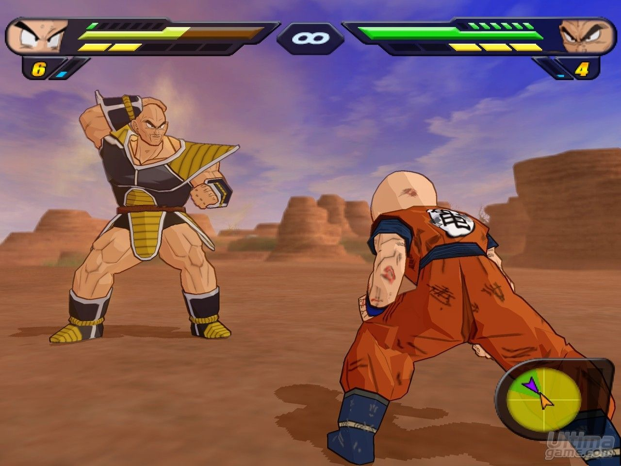de Dragon Ball Z Budokai Tenkaichi 2: Budokai Tenkaichi 2 para Wii