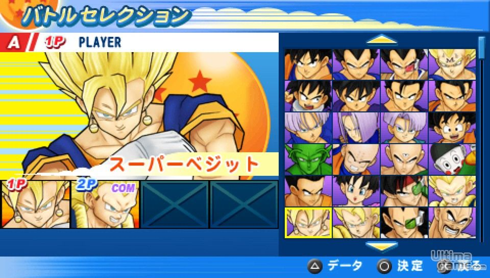 Dragon Ball Z Tenkaichi Tag Team Psp