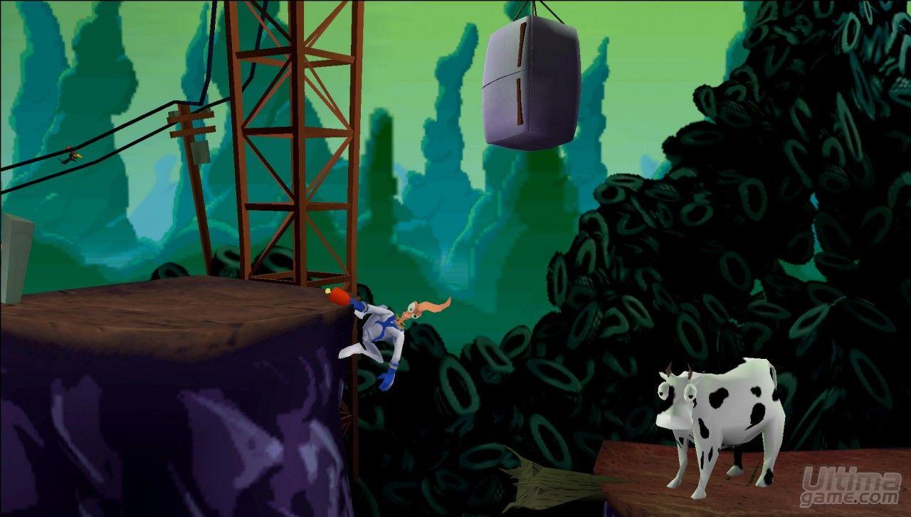 Earthworm Jim 2 На Psp