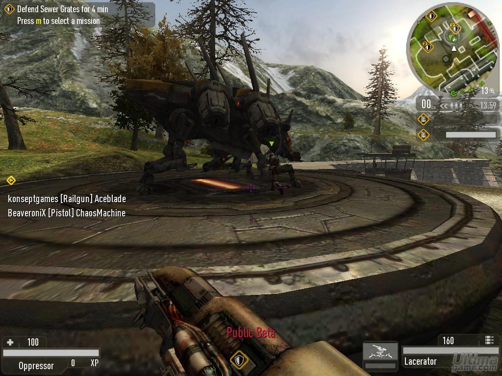 Imágenes de Enemy Territory: Quake Wars: Enemy Territory Quake Wars