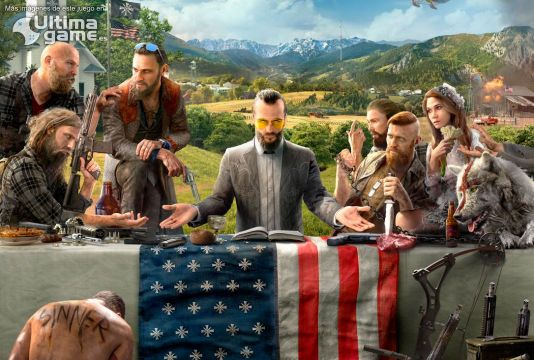 Ubisoft desvela la que será la portada de Far Cry 5