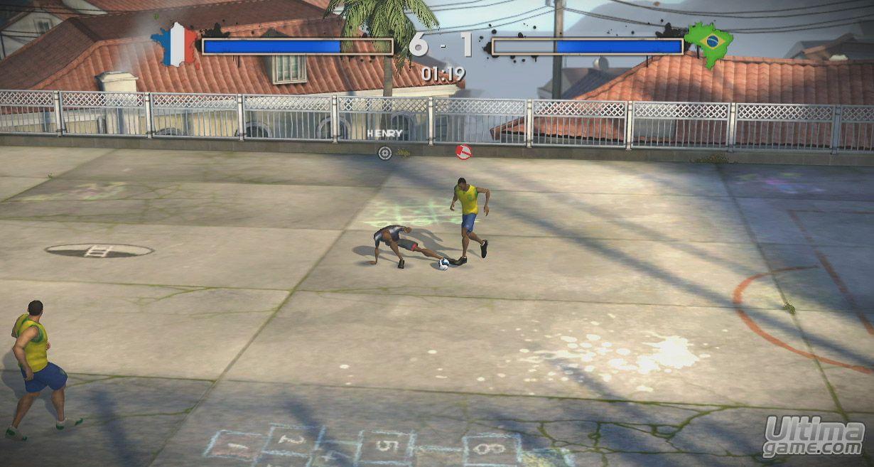 más estilizados del planeta con FIFA Street 3 de FIFA Street 3