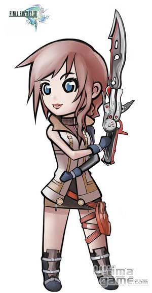 Im�genes de Final Fantasy XIII: Lightning, de Final Fantasy XIII