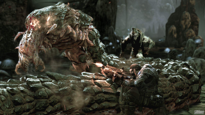 Im  Genes De Gears Of War 2  Gears Of War 2     Que Siga El