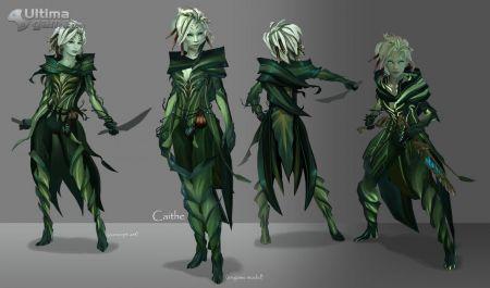 Los Sylvari, los hijos de las plantas, se presentan en Tyria imagen 1