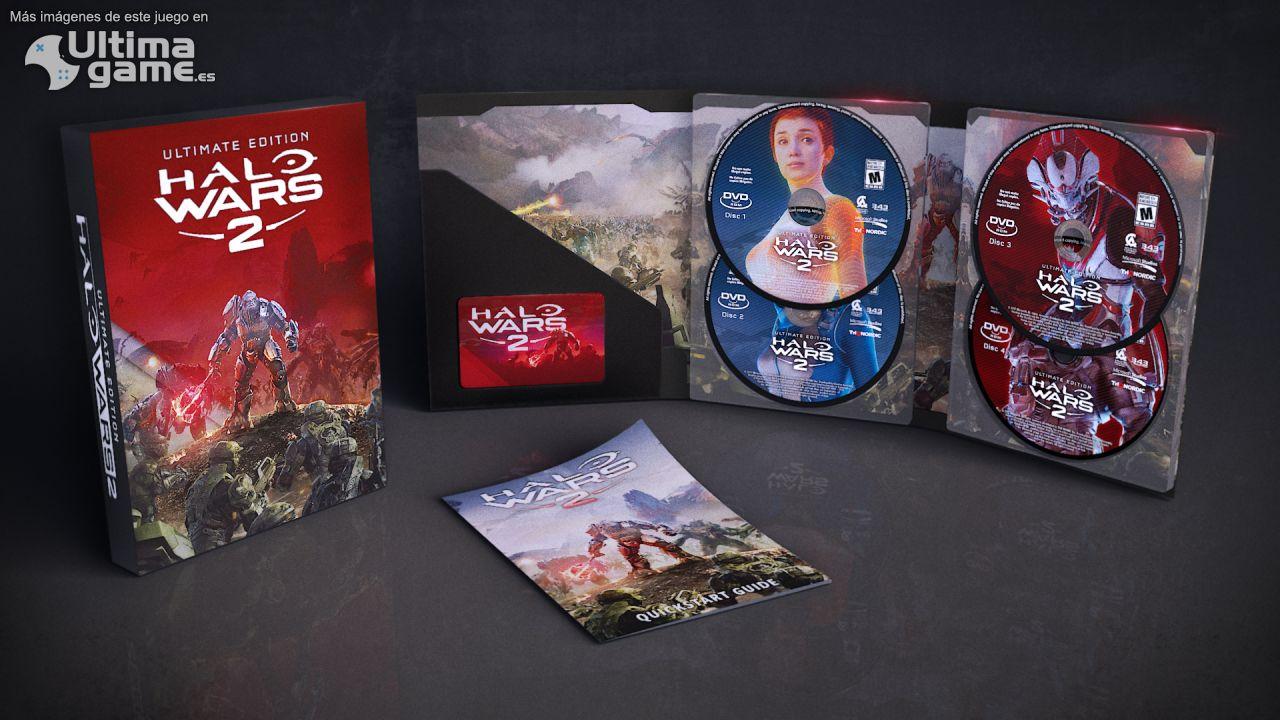 Imágenes de Halo Wars 2: Así son las ediciones físicas de Halo Wars 2