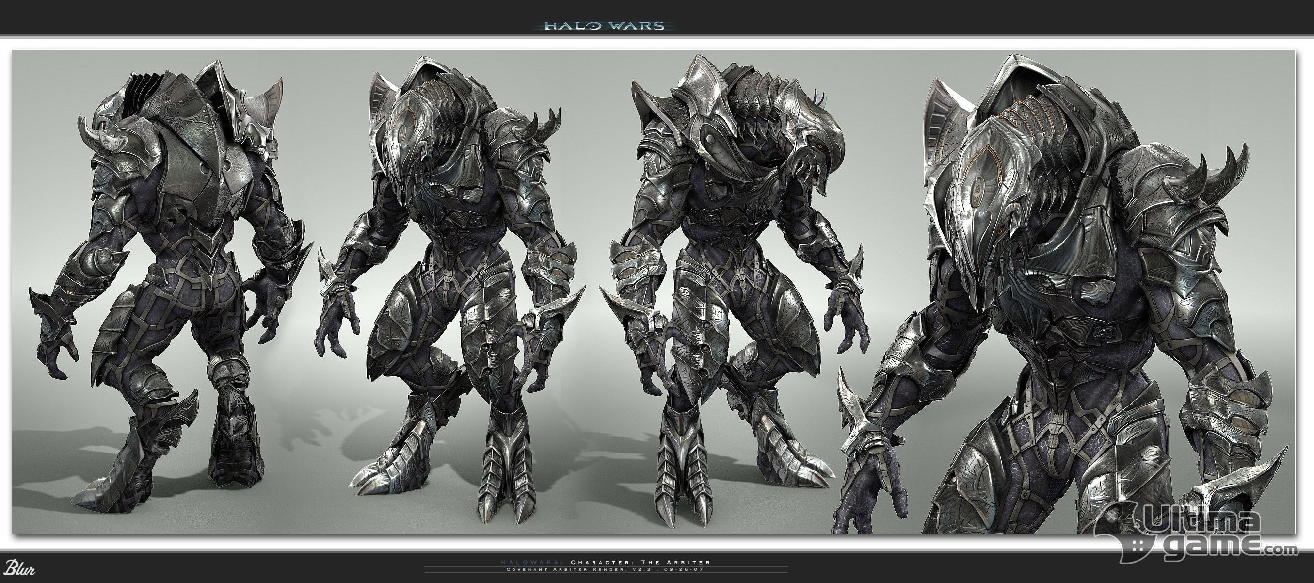 the early arbiter design from halo wars looks a lot like the arbiter