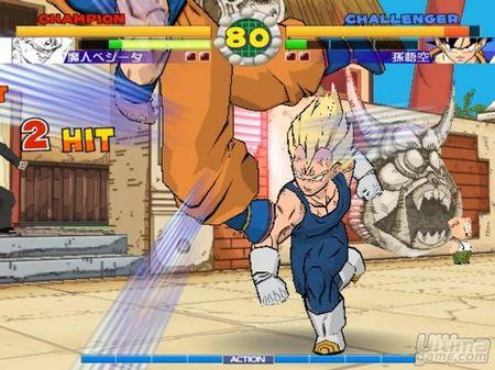 Scans de Super Dragon Ball Z para PlayStation 2