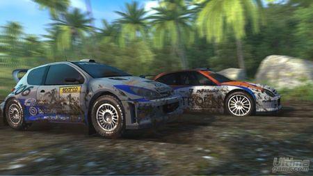 Primer vistazo a la versi�n para PSP de SEGA Rally