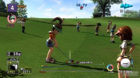 Sony prepara su mejor swing con Everybody Golf 5