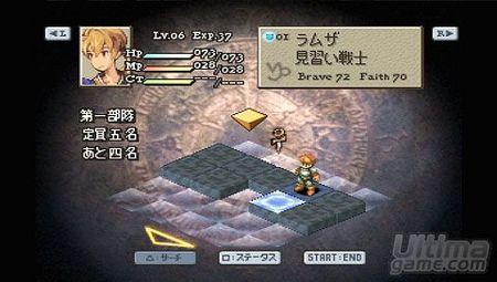 Final Fantasy Tactics - The Lion War nos muestra m�s sobre su desarrollo en fotos