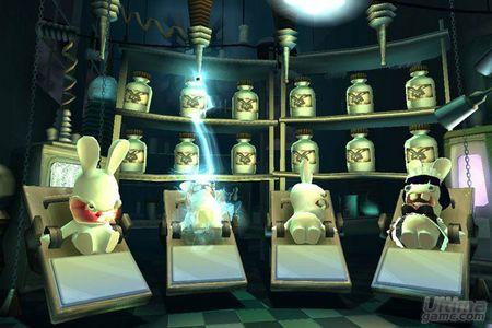 Los conejos de Rayman Raving Rabbids 2 vuelven más guerreros que nunca. Nuevas imágenes.