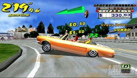 Enciénde el taxímetro - Nuevas imágenes de Crazy Taxi Fare Wars