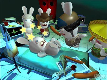 Los conejos de Rayman Raving Rabbids 2 vuelven m�s guerreros que nunca. Nuevas im�genes.