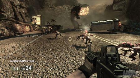 El trailer E3 2007 de Blacksite Area 51