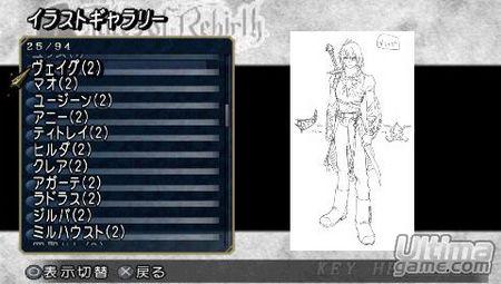 Bandai-Namco nos da nuevos detalles de Tales of Rebirth para PSP