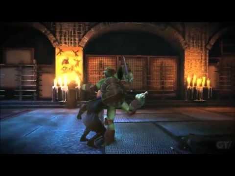 Donatello muestra sus movimientos en un nuevo vídeo de Teenage Mutant Ninja Turtles: Desde las sombras
