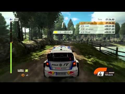El Neste Oil Rally de Finlandia, al descubierto en un nuevo vídeo de WRC 4 - Fia World Rally Championship 4 - Noticia para WRC 4 - FIA World Rally Championship 4