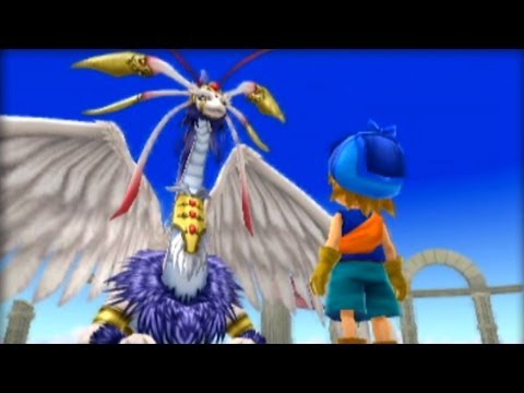 Dragones y Ángeles, algunos de los monstruos más poderosos de Dragon Quest Monsters 2: Iru and Luca