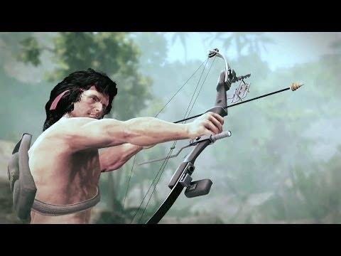 La mecánica de acción de Rambo: The Videogame, explicada en un nuevo vídeo