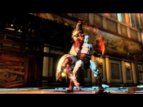 Trajes alternativos para Kratos en God of War III Remastered