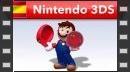 Mario salta a la pista en el modo historia de Puzzle & Dragons: Super Mario Bros. Edition