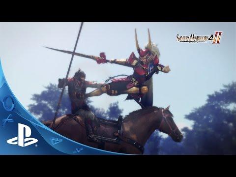 Choque de espadas en Samurai Warriors 4-II