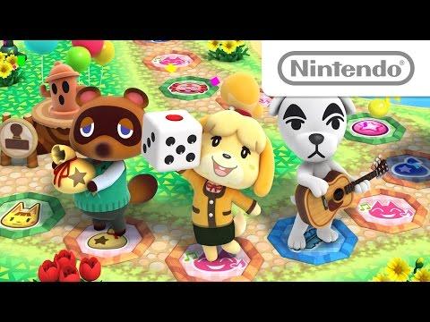 Cuatro tableros que evolucionan en Animal Crossing : Amiibo Festival