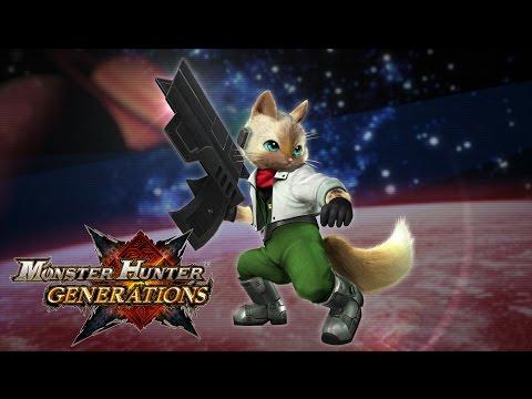 Fox se une a las cacerías de monstruos - Noticia para Monster Hunter Generations