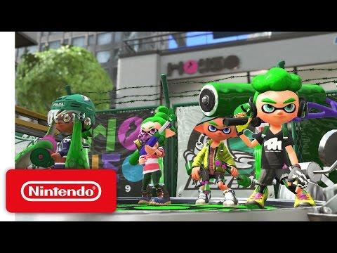 Nintendo Switch estrenará sus batallas de pintura en Marzo