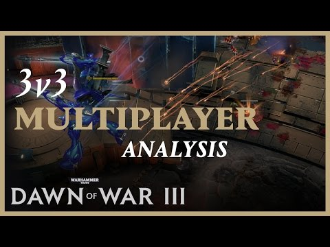Un ejemplo de una partida multijugador 3 Vs 3 - Noticia para Warhammer 40,000: Dawn of War III