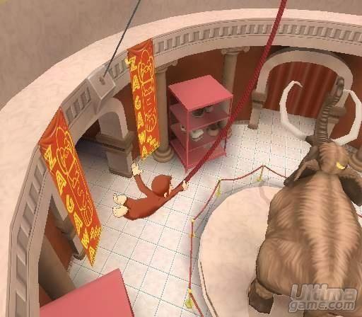 Im�genes de Jorge El Curioso: Primeras im�genes de Curious George para GameCube