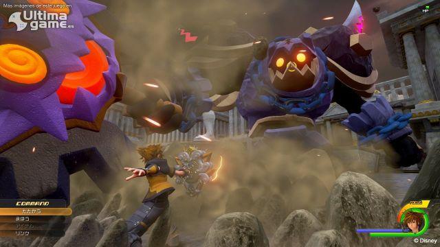 Sora y Hércules volverán a encontrarse en Kingdom Hearts III