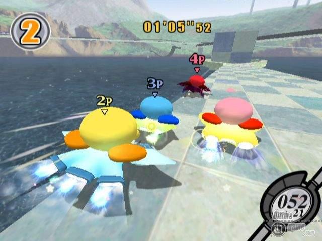 Kirby Air Ride on Dolphin Emulator -