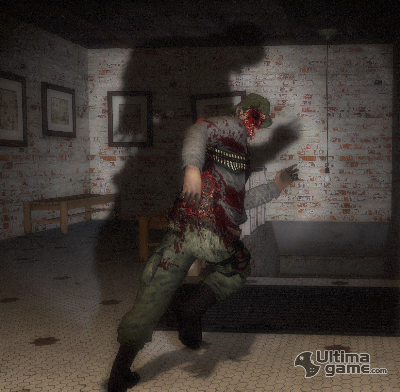Cartoon of xbox 360 left 4 dead  hardcore scenes