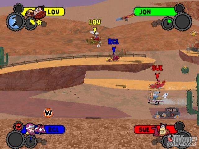 Im�genes de Los Autos Locos: Los Autos Locos - Las carreras m�s divertidas llegan a DS y Wii