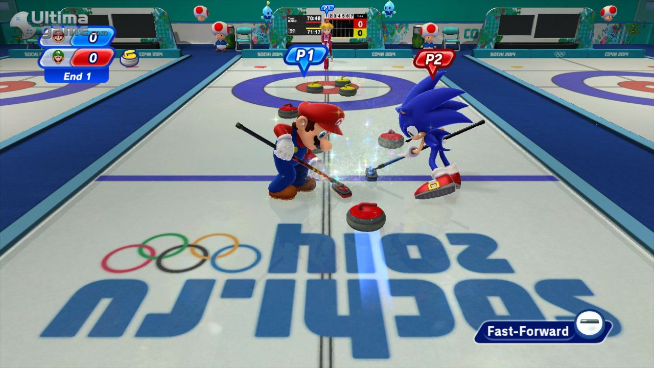 una galería de Mario & Sonic at the Sochi 2014 Olympic Winter Games