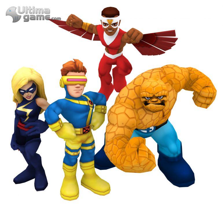 de Marvel Super Hero Squad Online: Disfruta de sus super-héroes