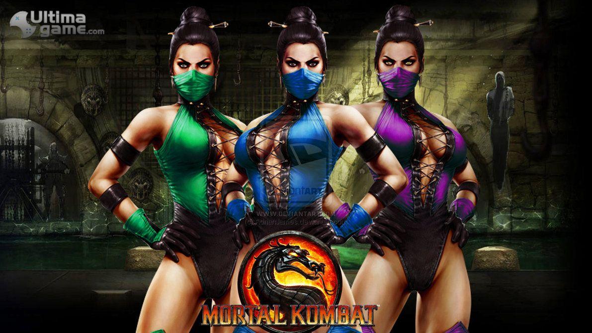 Im�genes de Mortal Kombat: Kitana, Mileena y Jade, las tres luchadoras m�s explosivas de Mortal Kombat