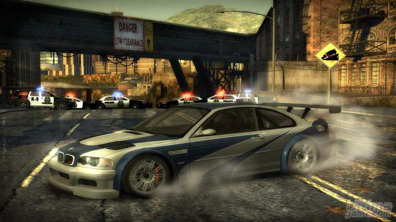 Need For Speed Most Wanted (2005) en PS2, XBOX, CUB, GBA, PSP, PC, DS