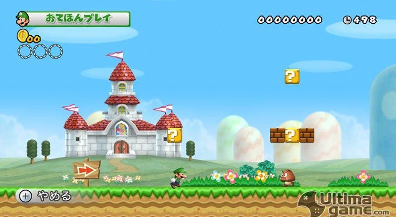 Im�genes de New Super Mario Bros Wii: New Super Mario Bros. Wii - El rey de las plataformas y sus amigos, listos para la acci�n