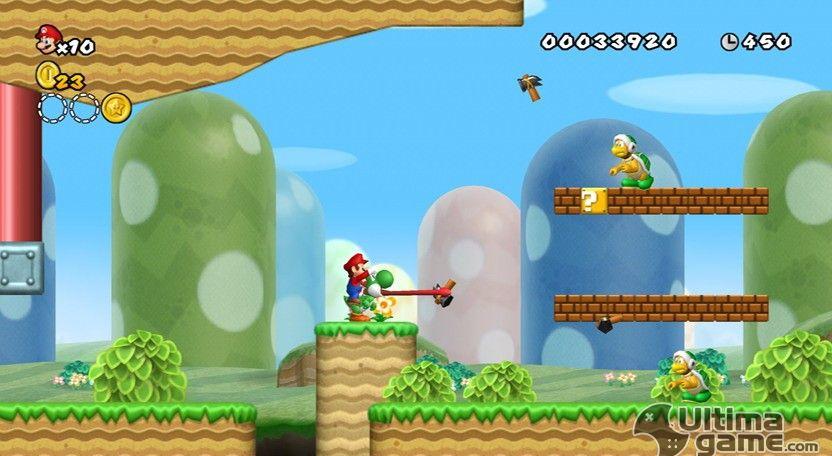 Imágenes de New Super Mario Bros Wii: New Super Mario Bros. Wii nos