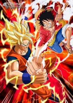 La esperada pelea entre Luffy y Goku, solo en tu 3DS