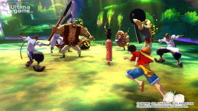 El pack Takoyaki y la Misión Maestro de Dinosaurios llegan a One Piece: Unlimited World Red
