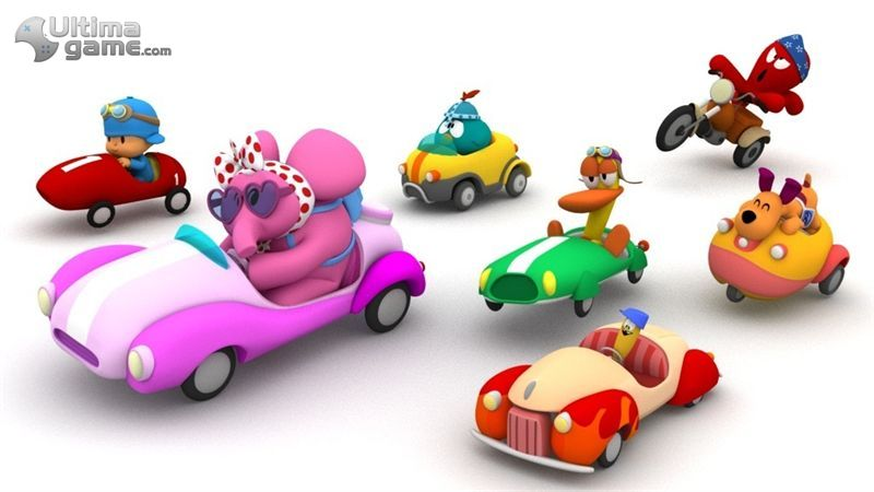 Pocoyo Racing  Carreras Coloristas Y Divertidas Para Wii Y Nintendo DS