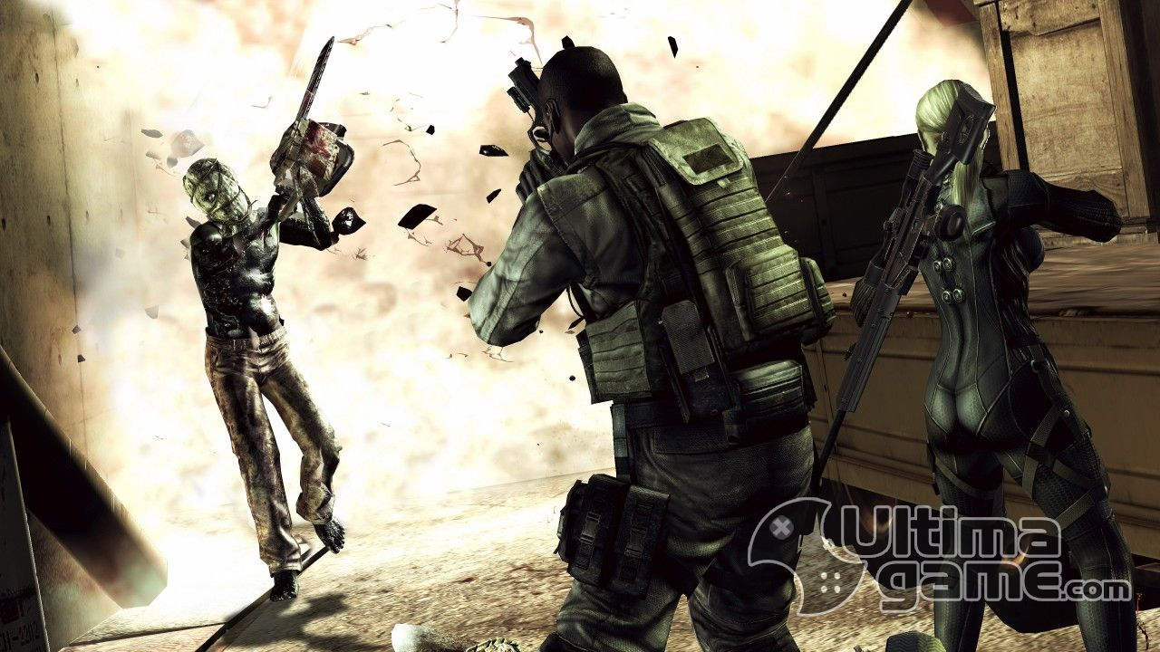 Evil Alternative Edition en Playstation 3 de Resident Evil 5: Gold